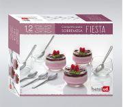 BETEL- Jogo de Sobremesa 12 Peças Fiesta- 943