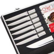 EURO HOME - Conjunto Chef para Churrasco 16 Peças com Maleta - BBQ6108