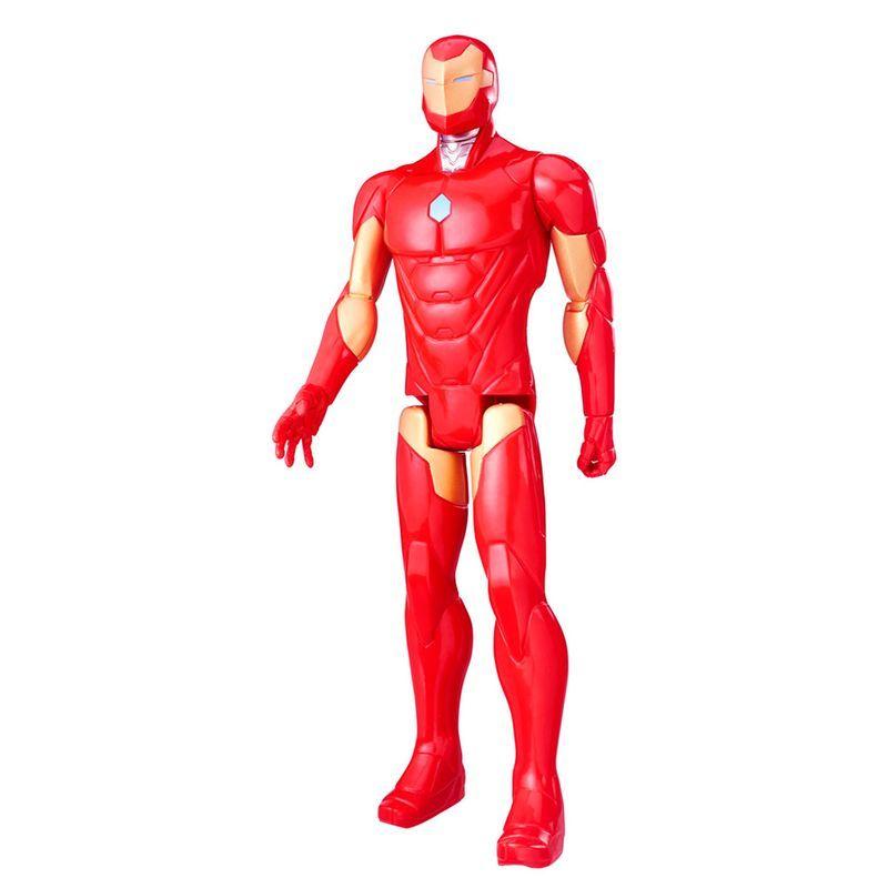 HASBRO - Boneco Homem de Ferro - Titan Hero Series - C0756