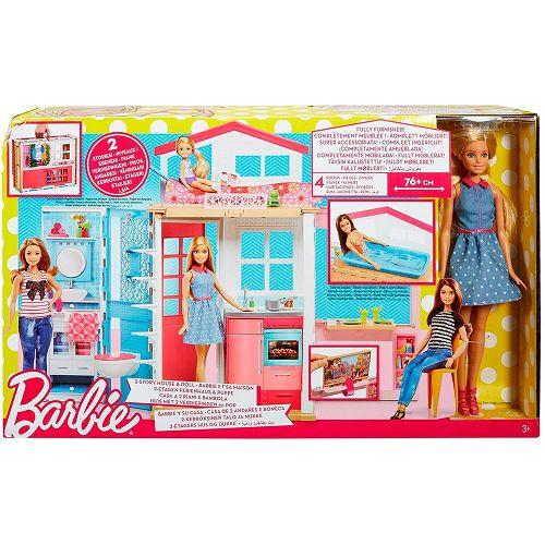 MATTEL - Barbie Real Barbie e Sua Casa - DW48