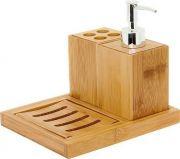 MIMO STYLE- Kit Para Banheiro 4 Peças Ecokitchen- BM1504