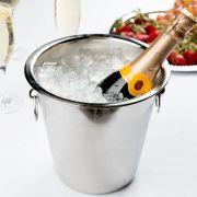 STARHOUSE- Balde Para Champagne Em Inox- BS0283